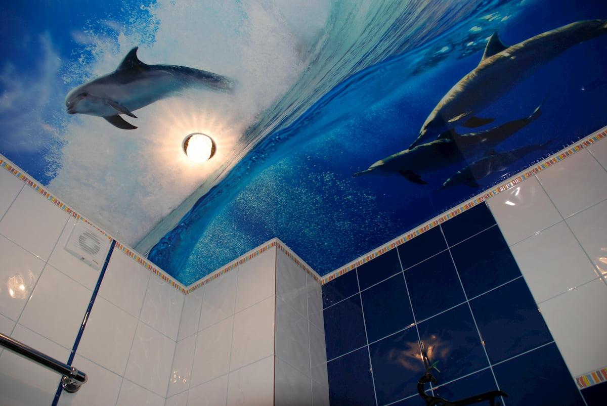 Потолок для ванной #2