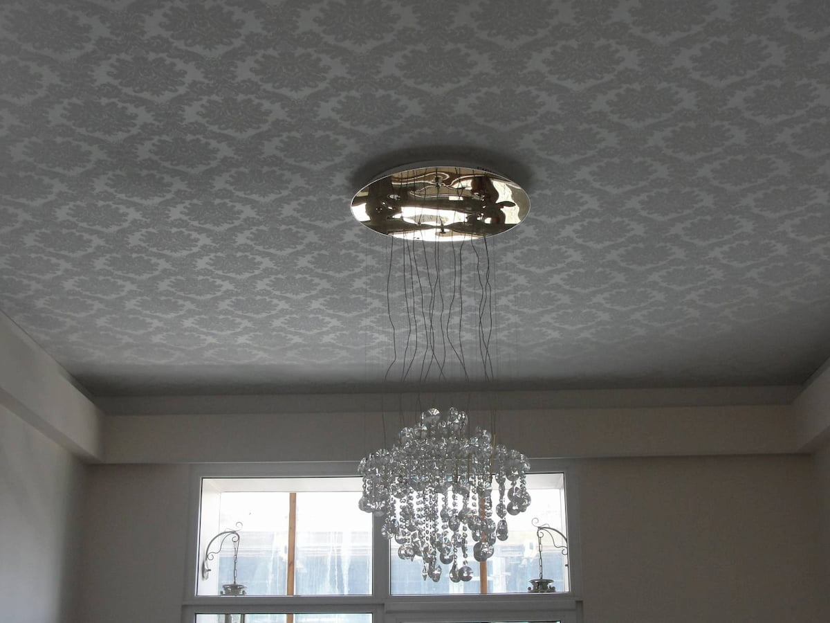 Тканевый потолок #2