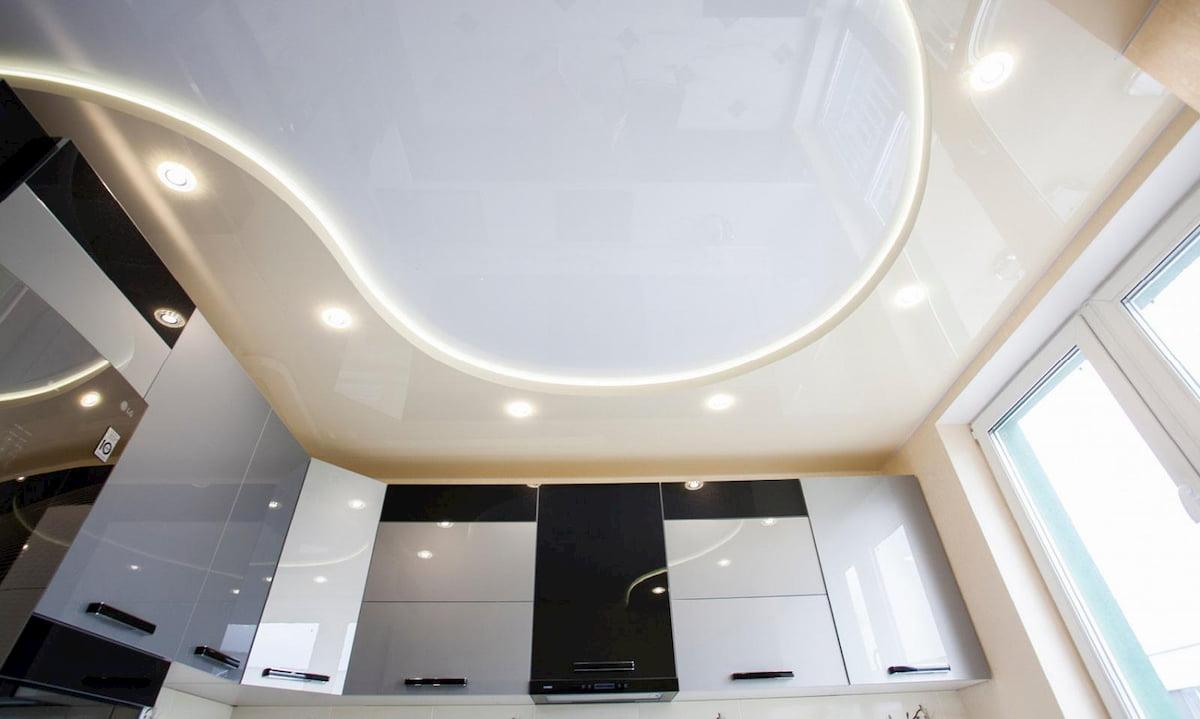 Двухуровневый потолок #2