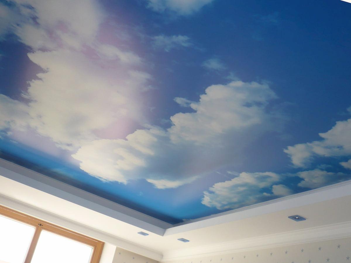 Потолок «Небо с облаками» #20