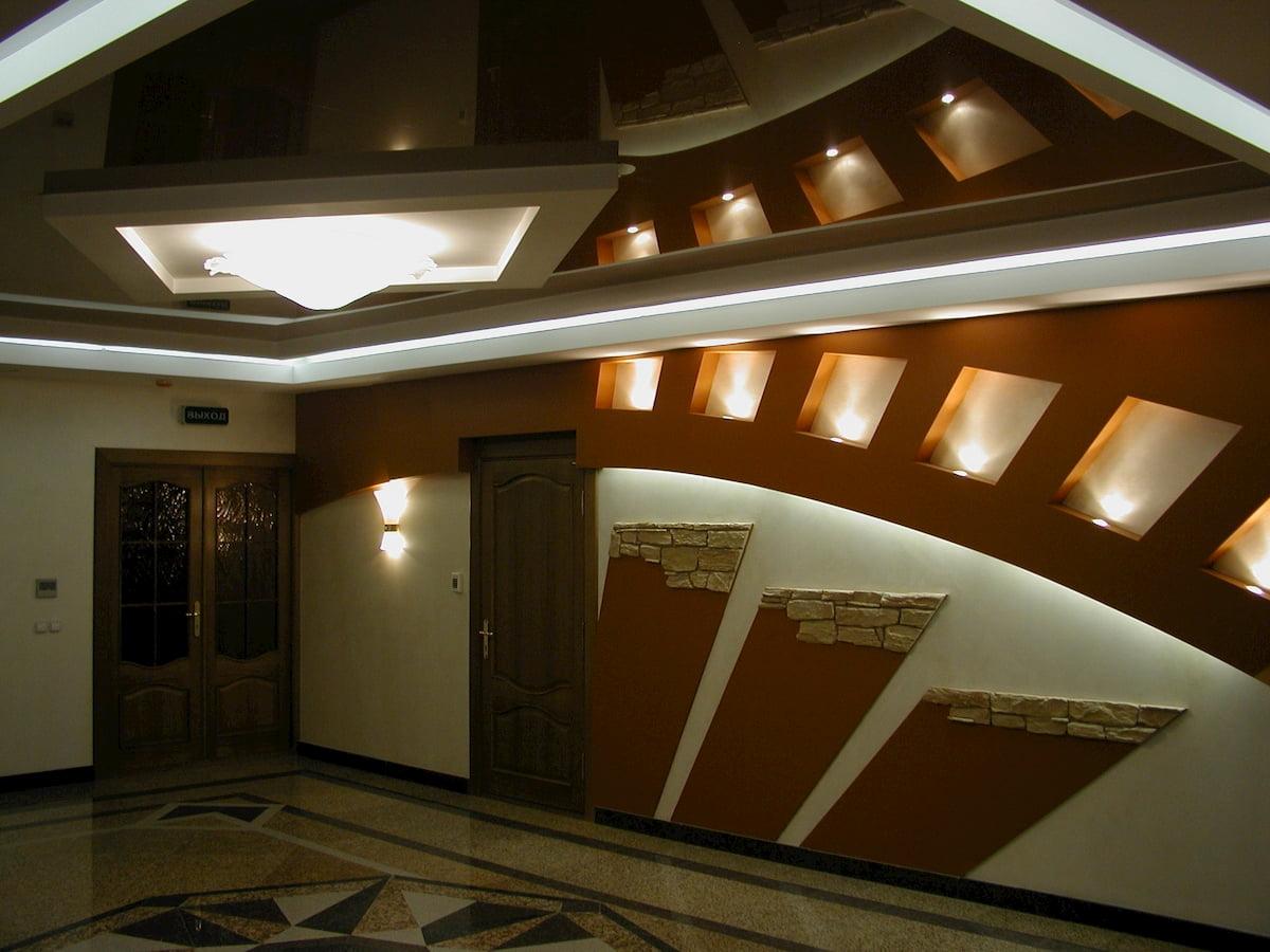 Зеркальный потолок #3