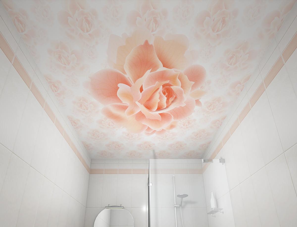 Потолок с цветами #3