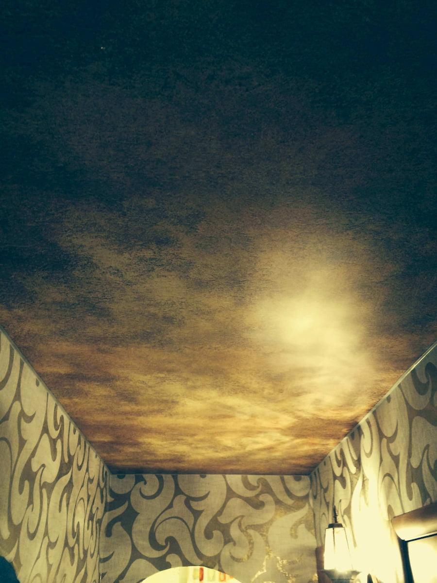 Фактурный потолок #3