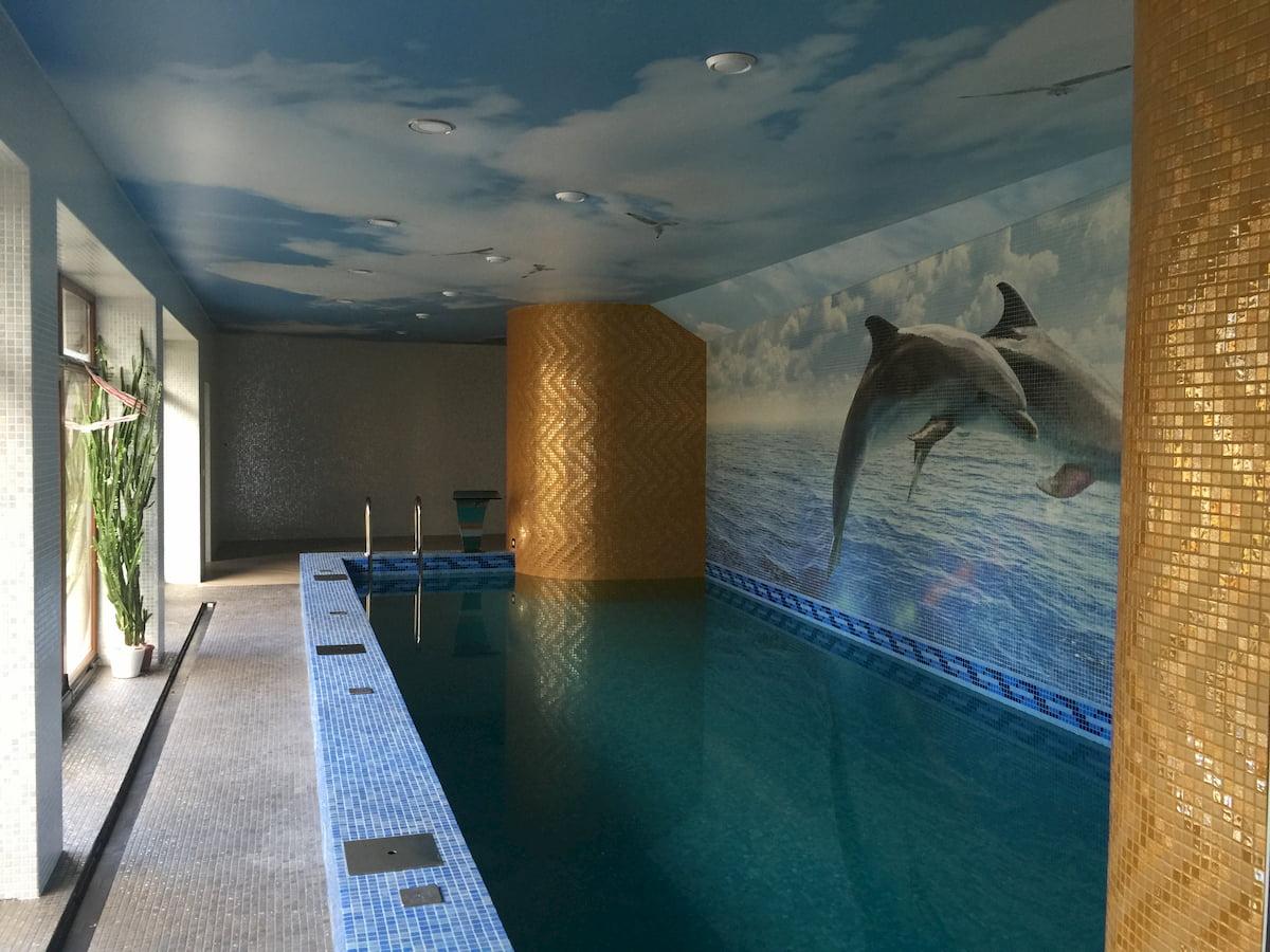 Потолок для бассейна #3