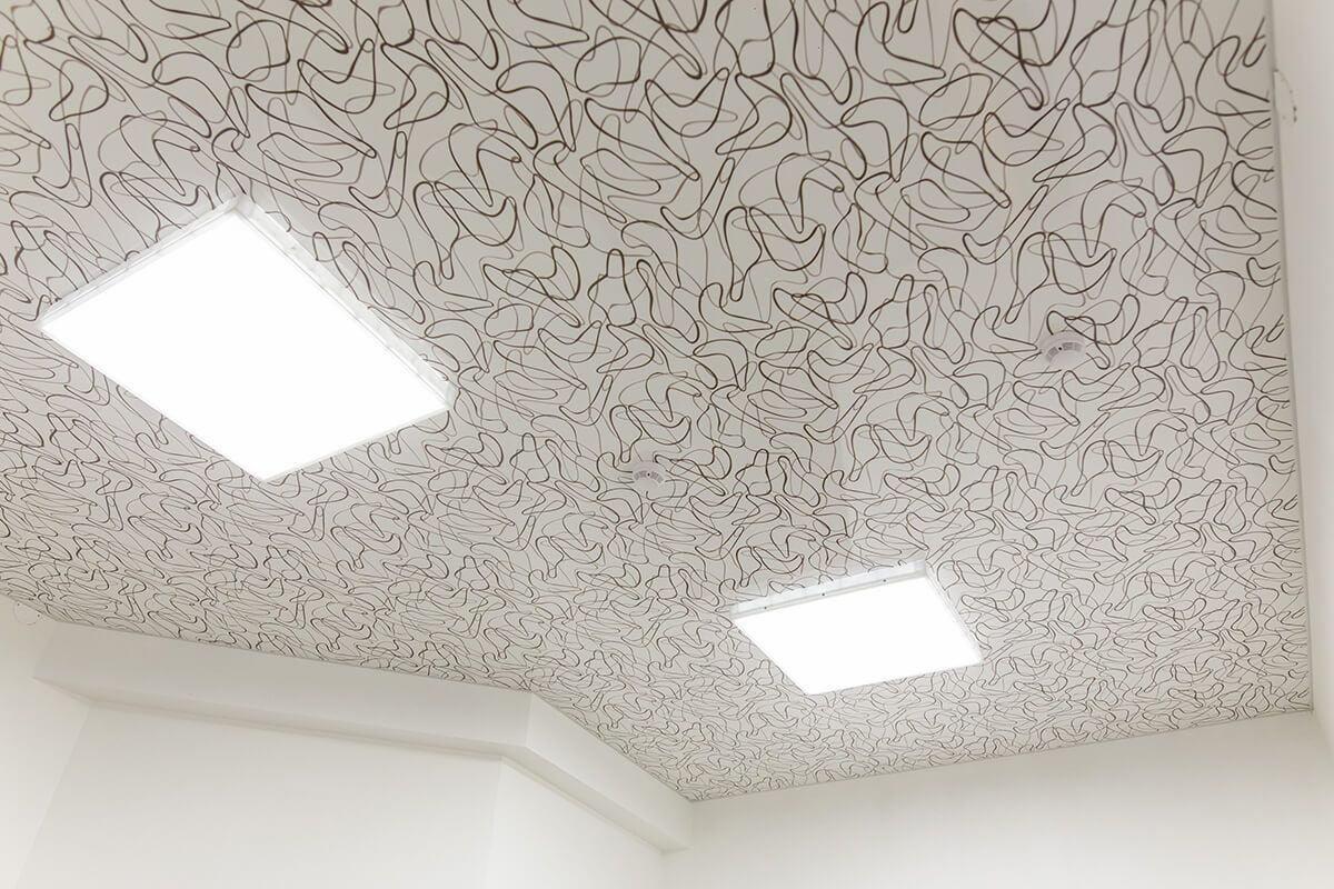 Тканевый потолок #3