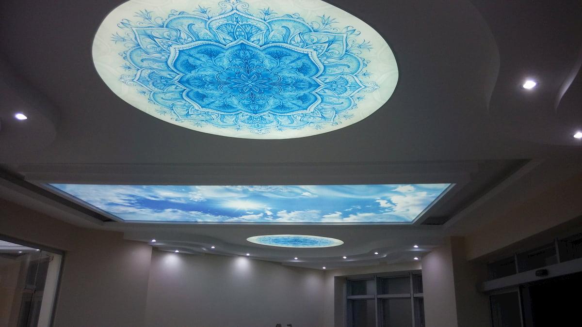 Светящийся изнутри потолок #3