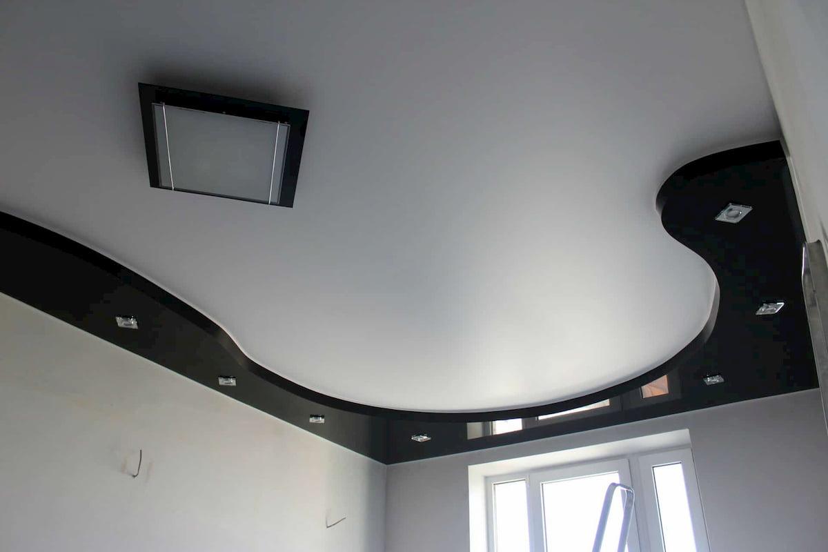 Двухуровневый потолок #3