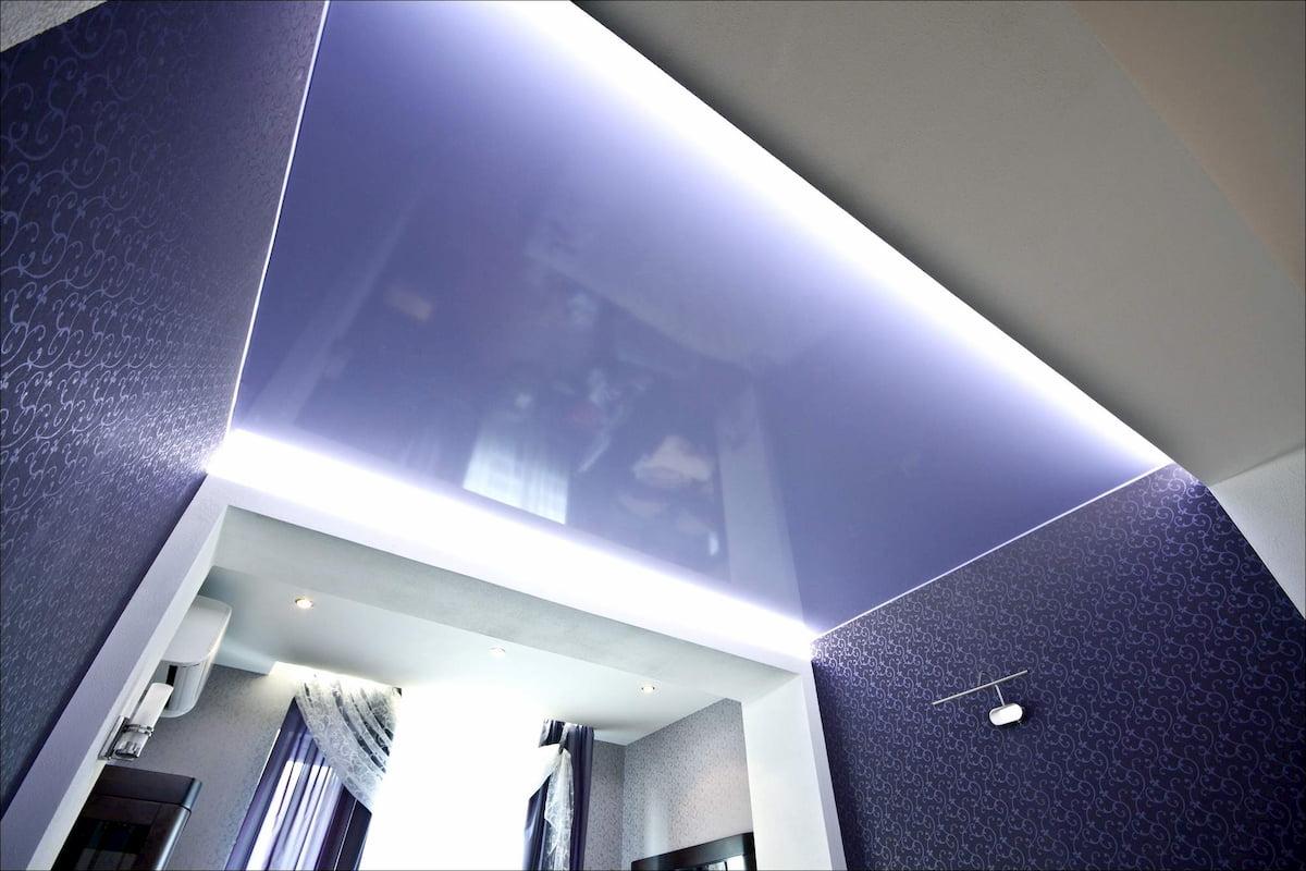 Глянцевый потолок #4