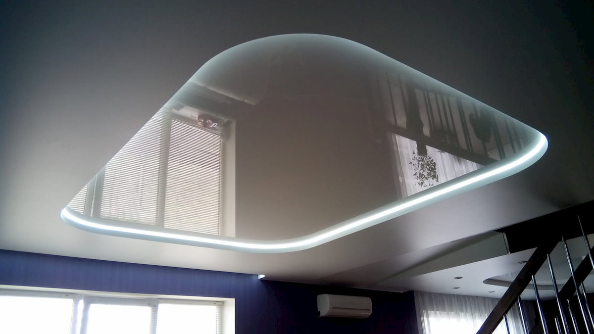 Эко потолок #4