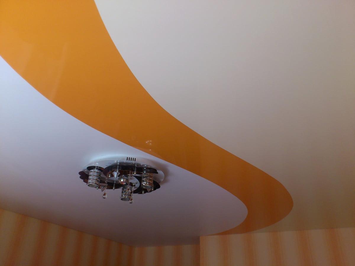 Криволинейный потолок #4