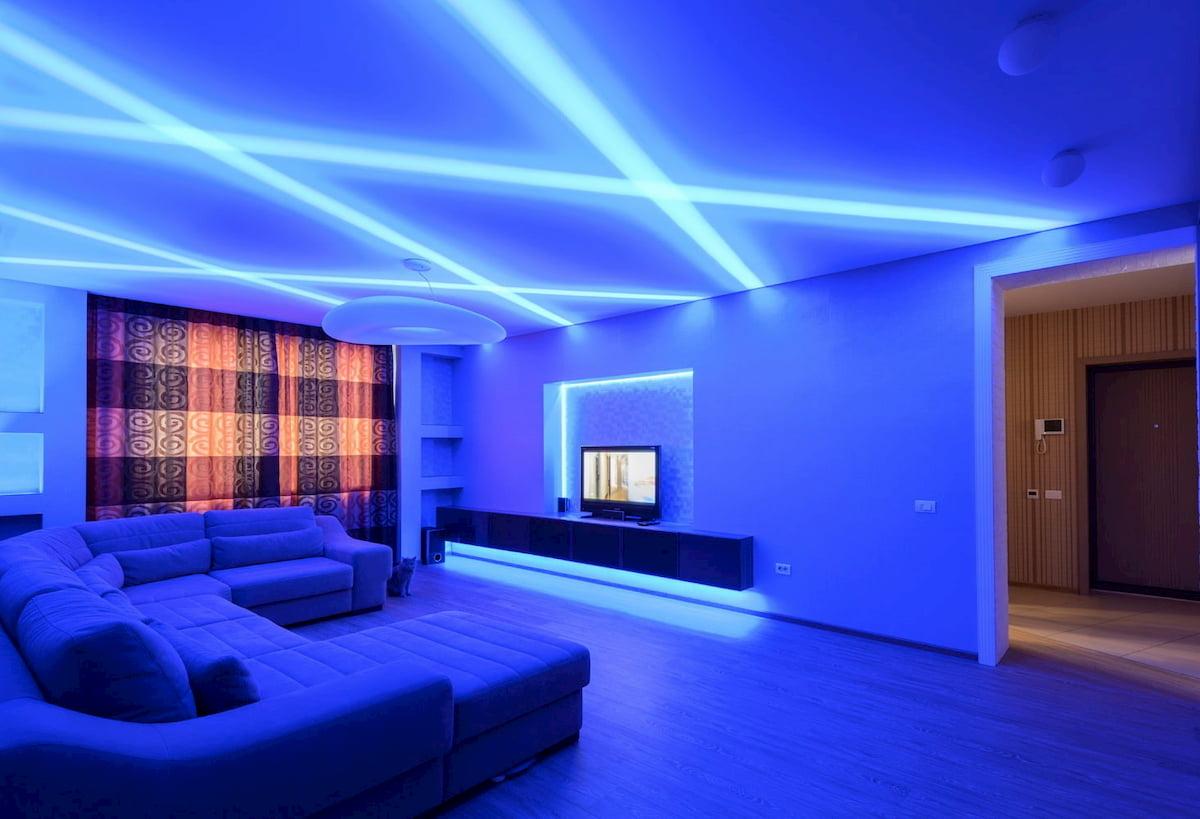 Светодиодный потолок с LED подсветкой #4