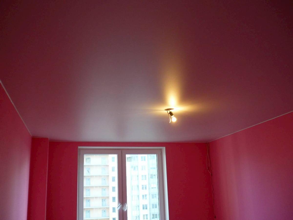 Матовый потолок #4