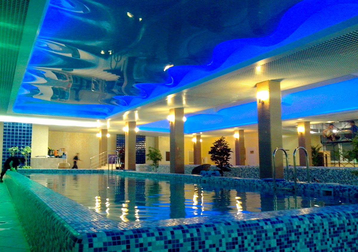 Потолок для бассейна #4