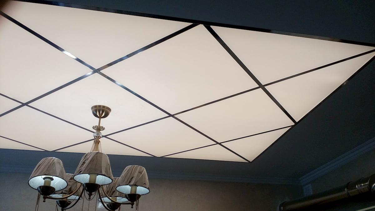 Светящийся изнутри потолок #4