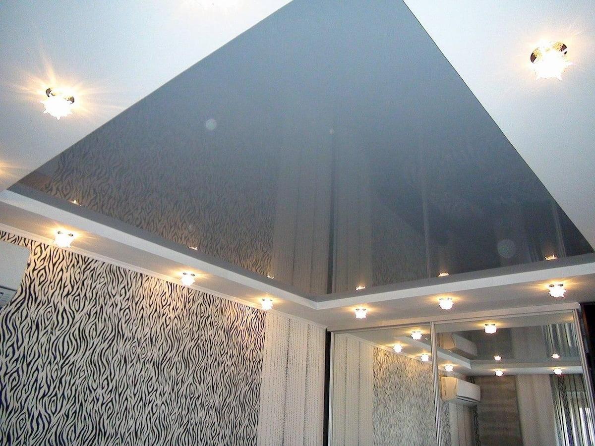 Глянцевый потолок #5