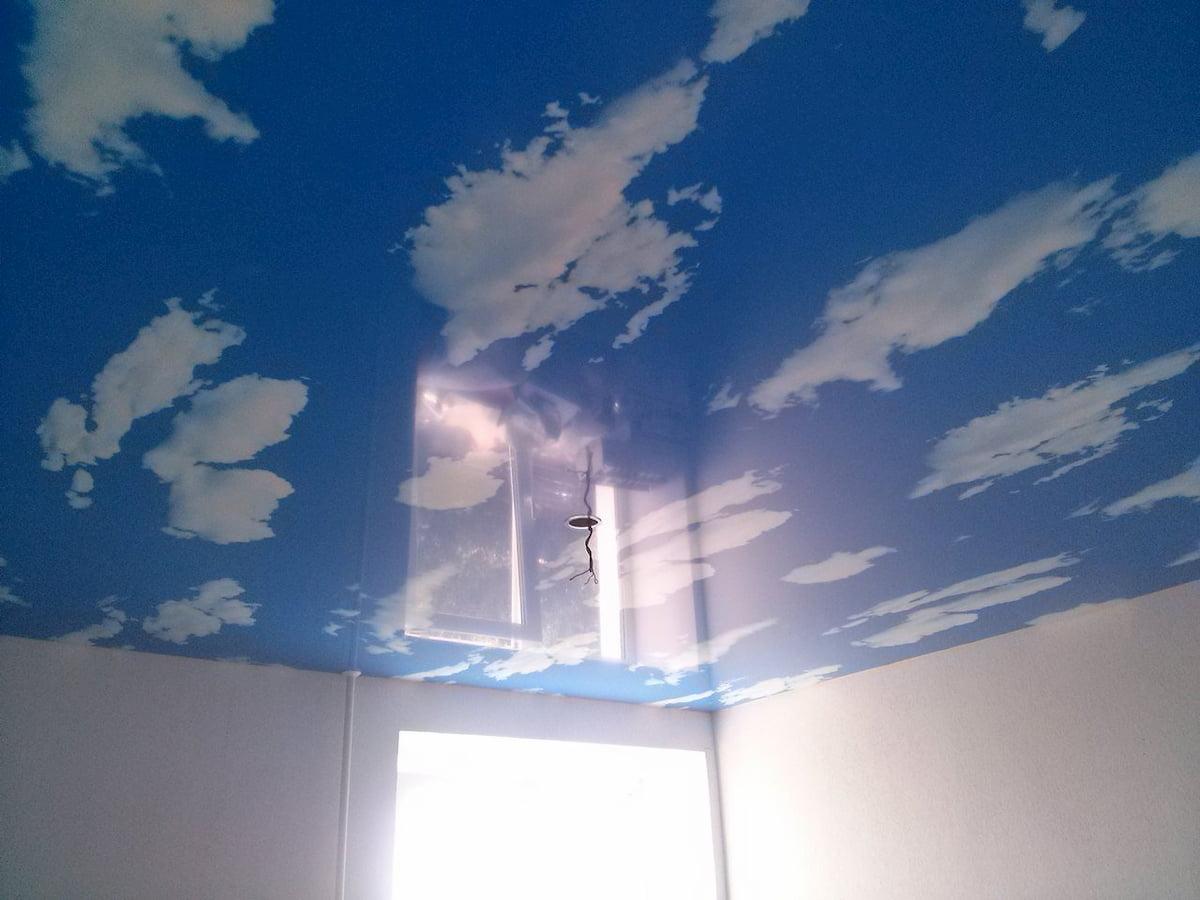 Потолок «Небо с облаками» #5