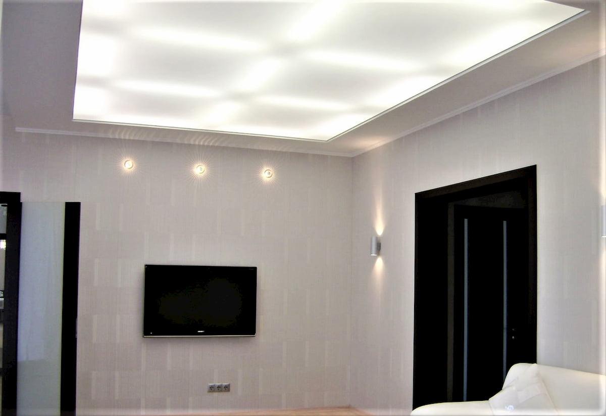 Светодиодный потолок с LED подсветкой #5