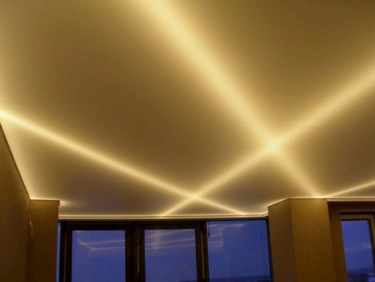 Светящийся изнутри потолок #5