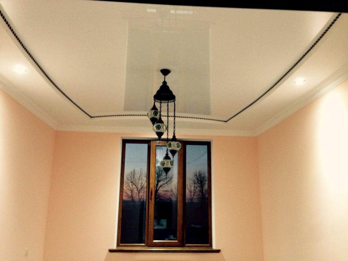 Бесшовный потолок #5