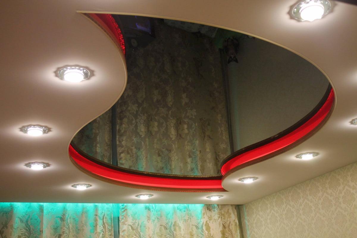 Двухуровневый потолок #5