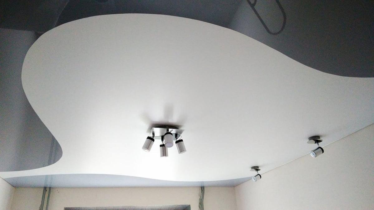 Криволинейный потолок #6