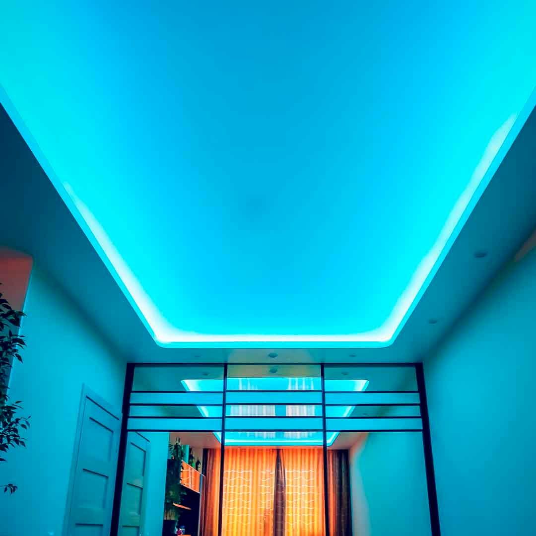 Светодиодный потолок с LED подсветкой #6