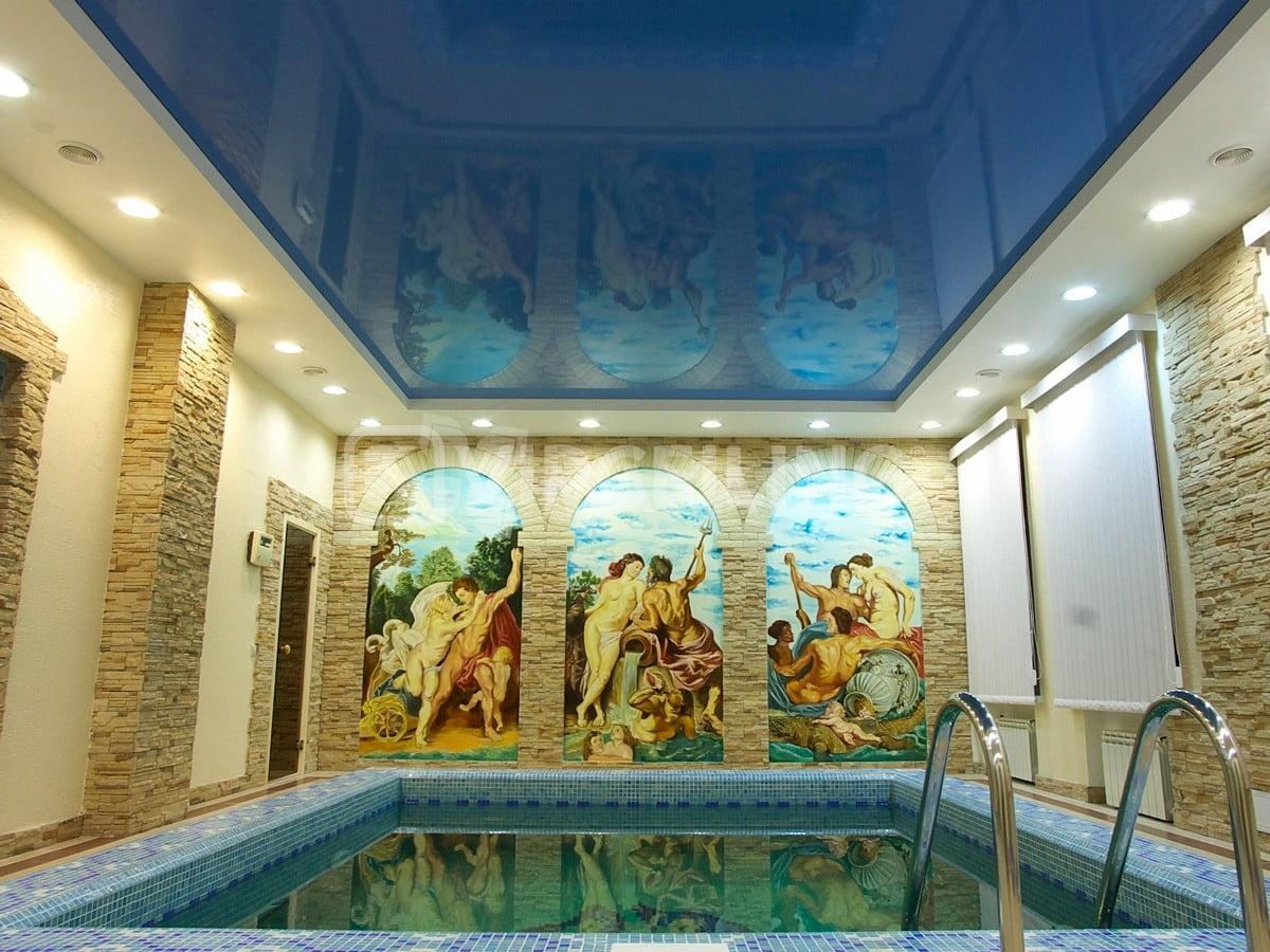 Потолок для бассейна #6
