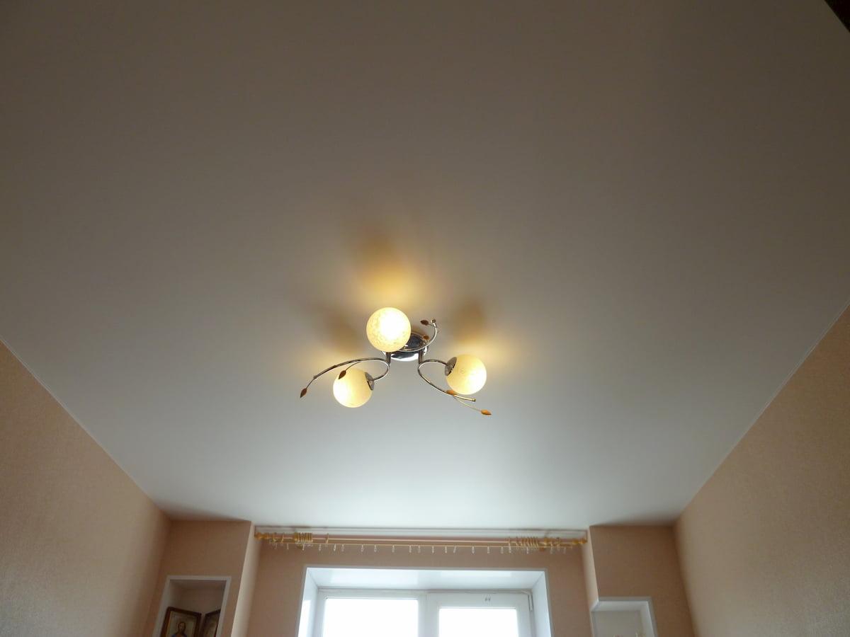 Тканевый потолок #6
