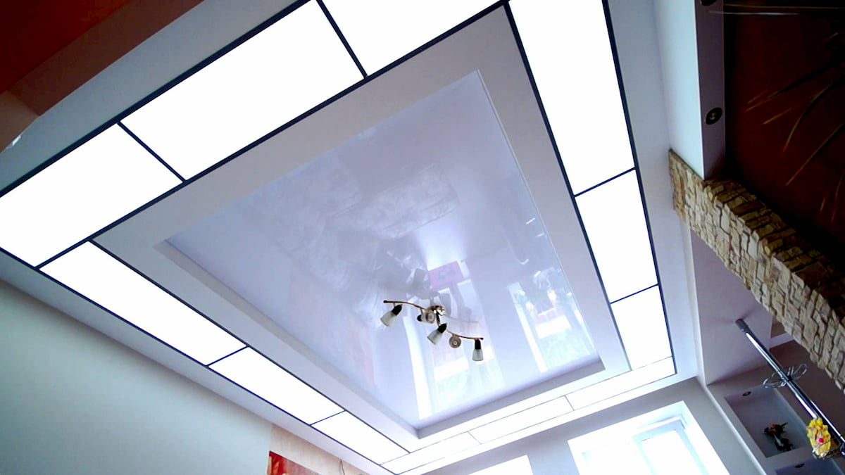 Светящийся изнутри потолок #6