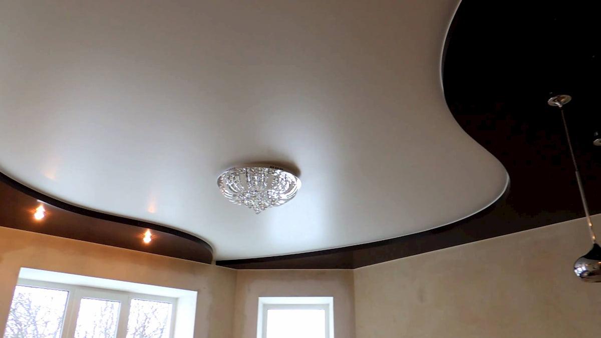 Двухуровневый потолок #6