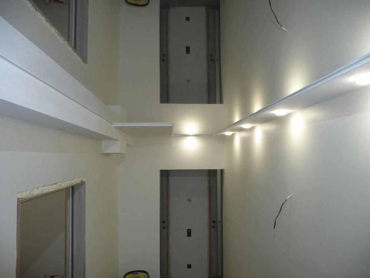 Зеркальный потолок #7