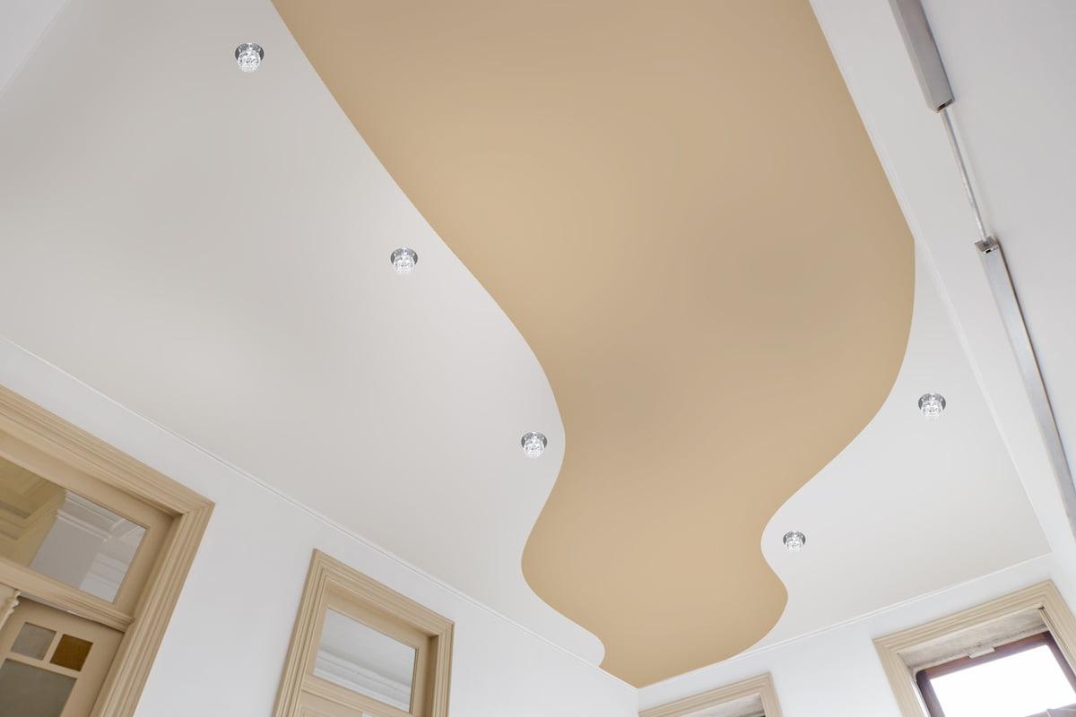 Криволинейный потолок #7