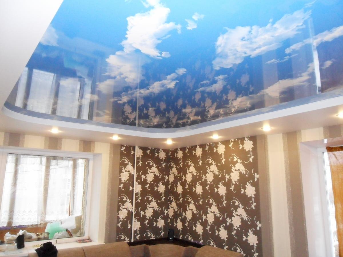 Потолок «Небо с облаками» #7