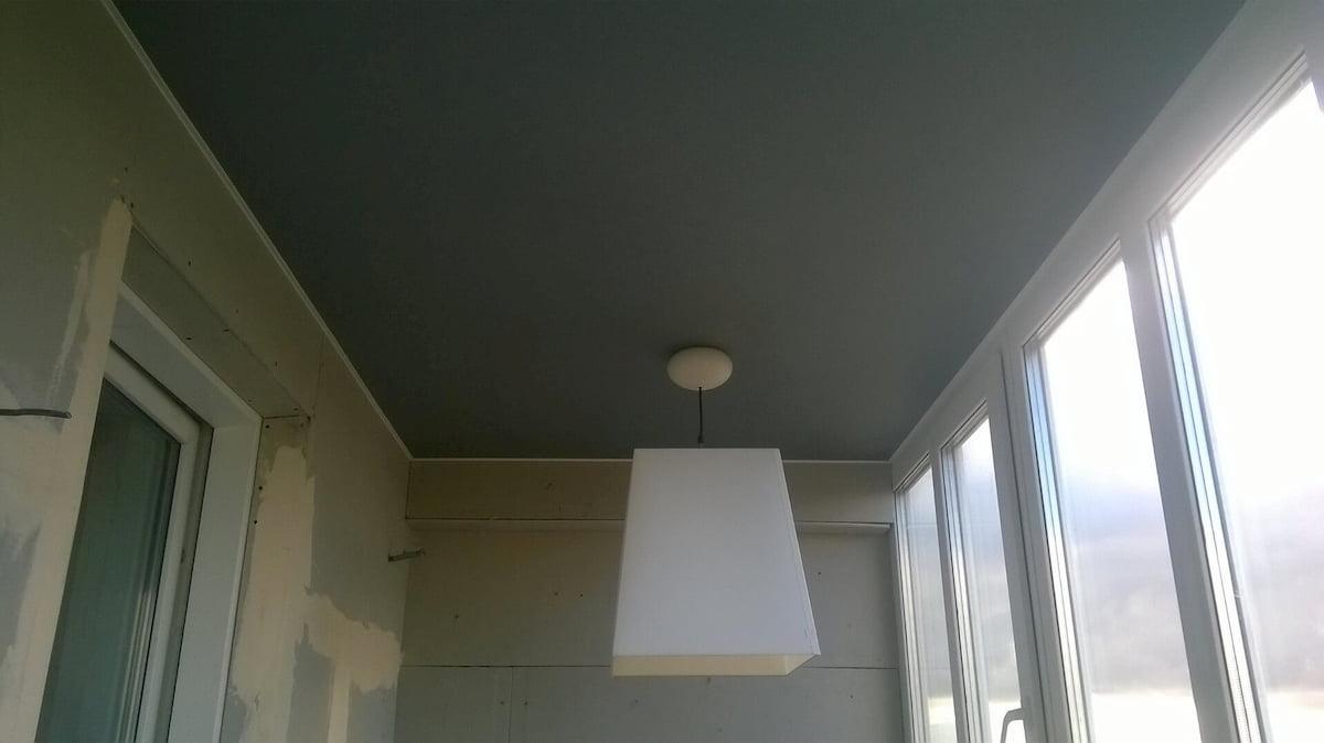 Потолок для балкона #7