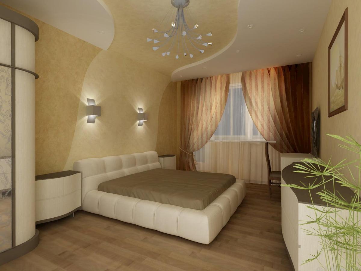 Потолок для спальни #7