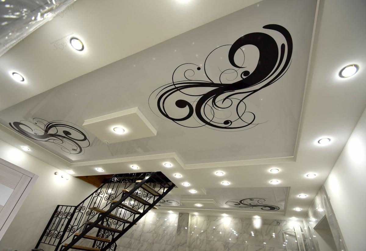 Арт потолок #7
