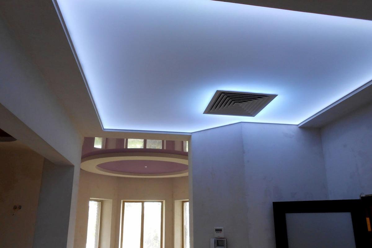 Светящийся изнутри потолок #7