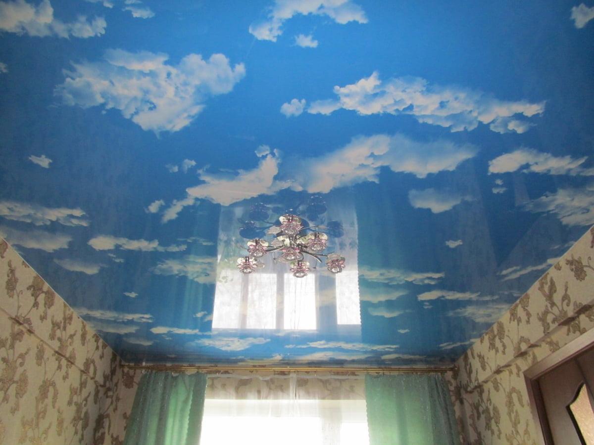 Потолок «Небо с облаками» #8