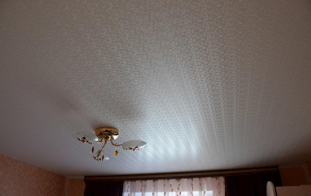 Фактурный потолок #8