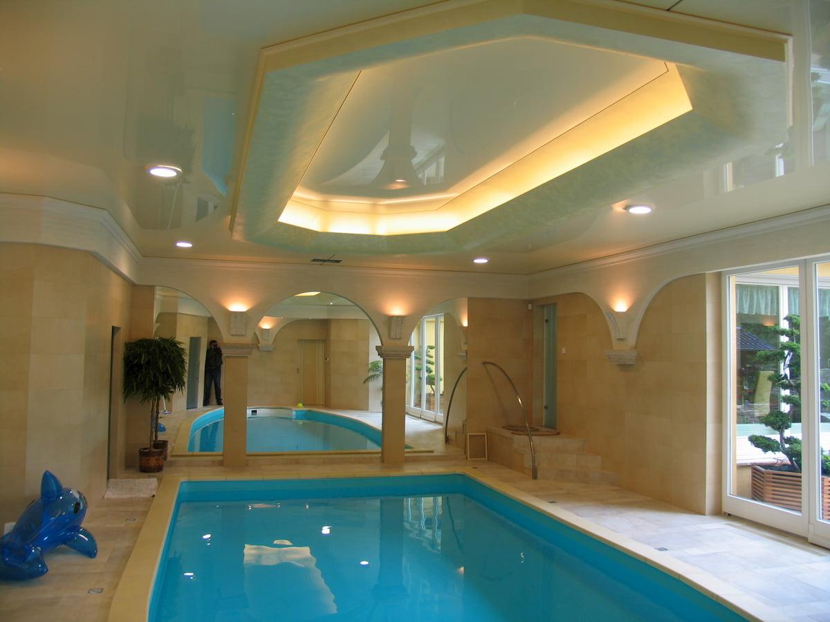 Потолок для бассейна #8