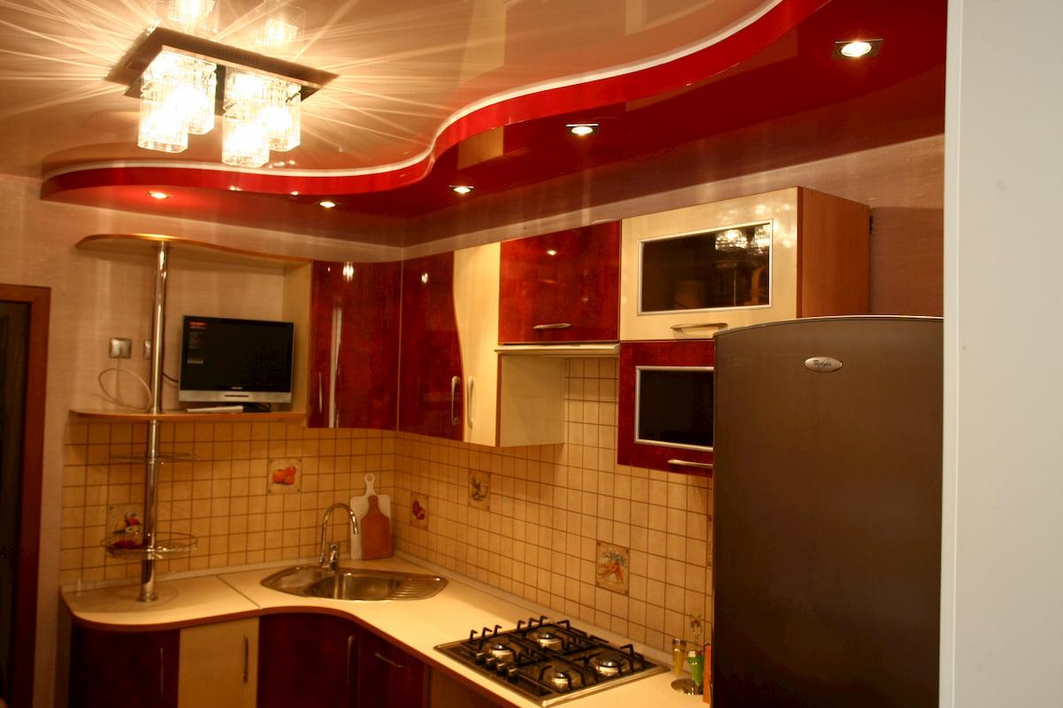 Потолок для кухни #8
