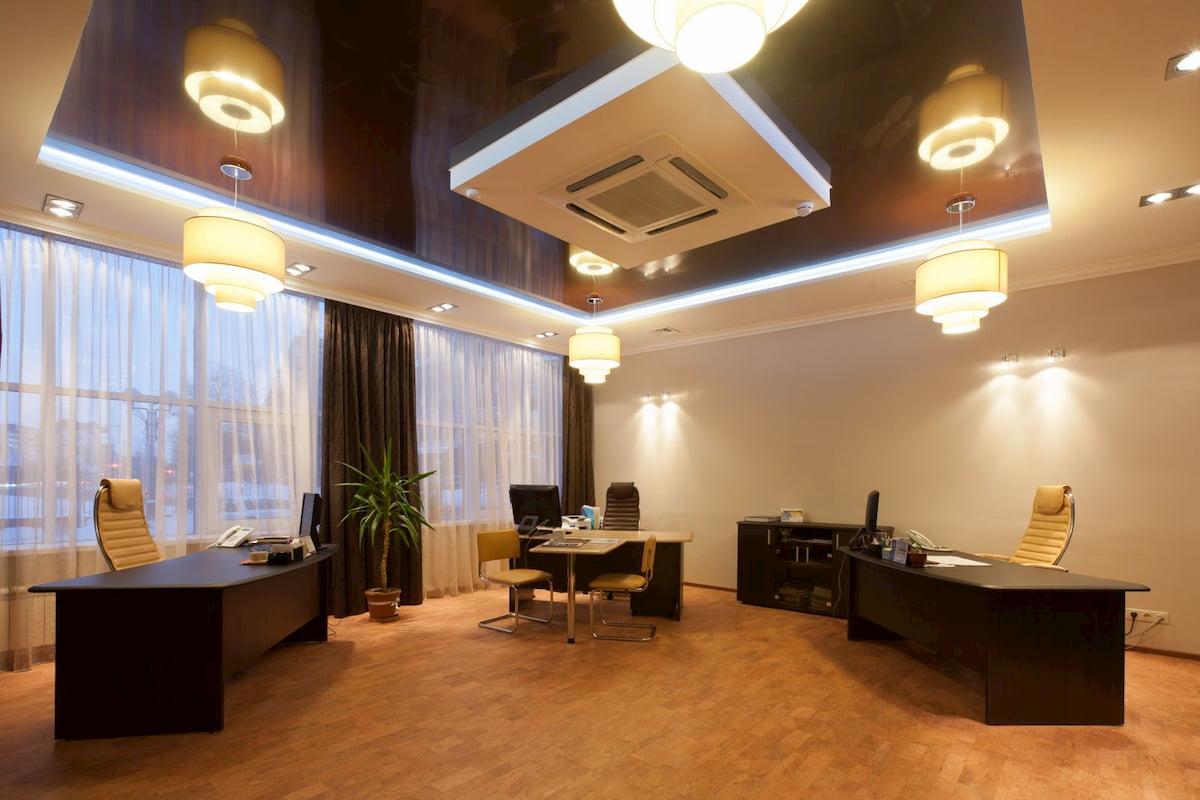 Потолок для офиса #8