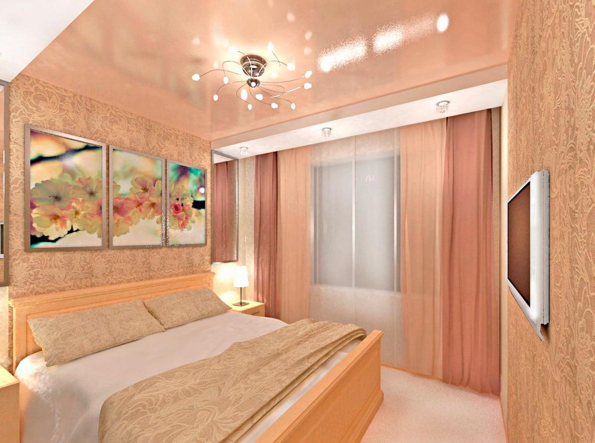 Потолок для спальни #8