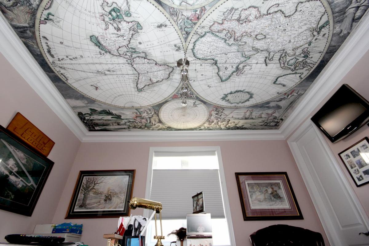Арт потолок #8
