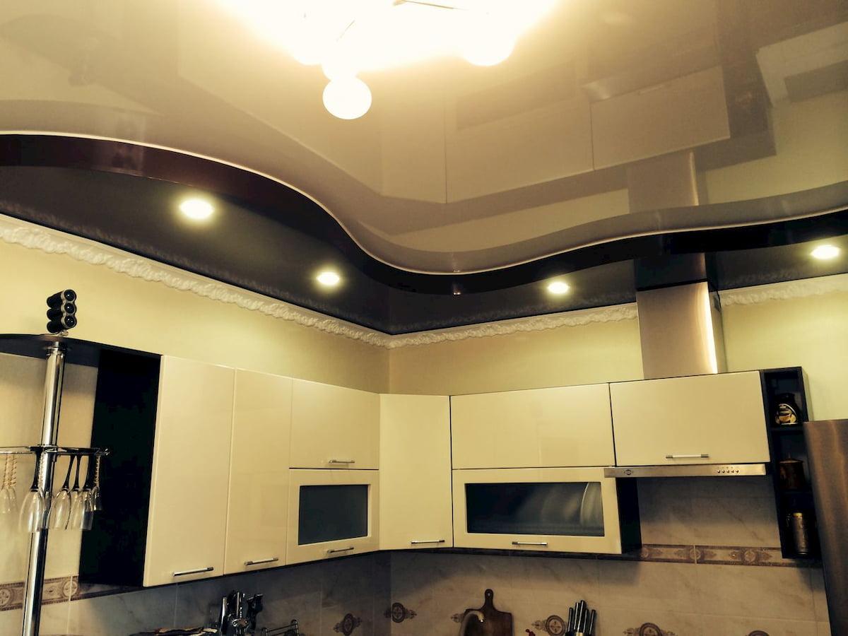 Двухуровневый потолок #8