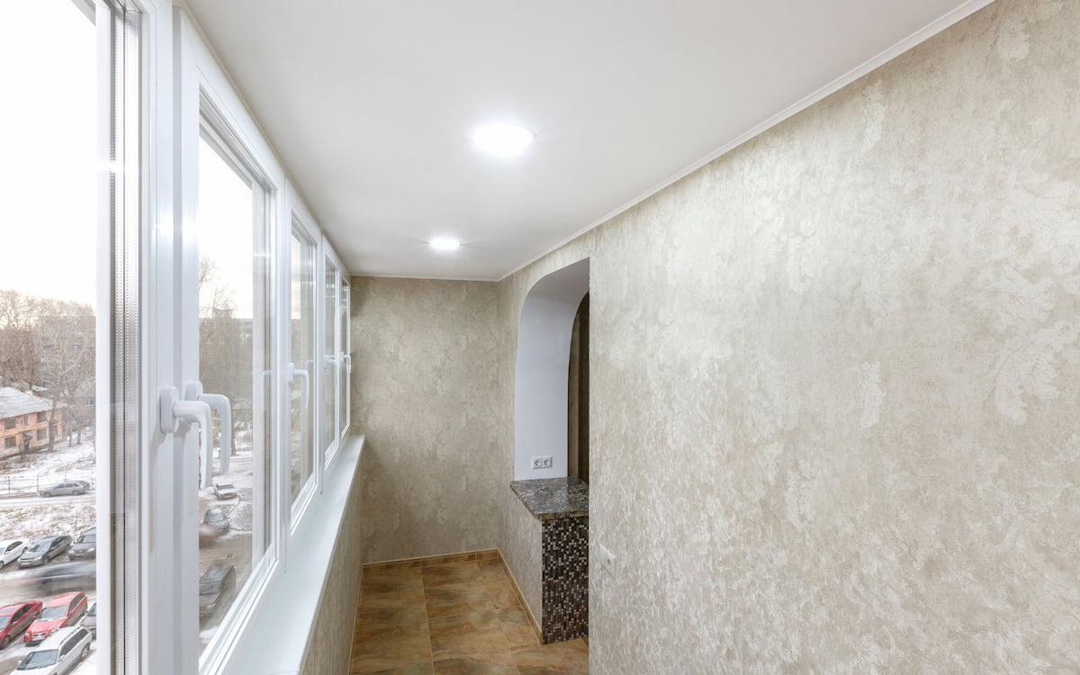 Потолок для балкона #9