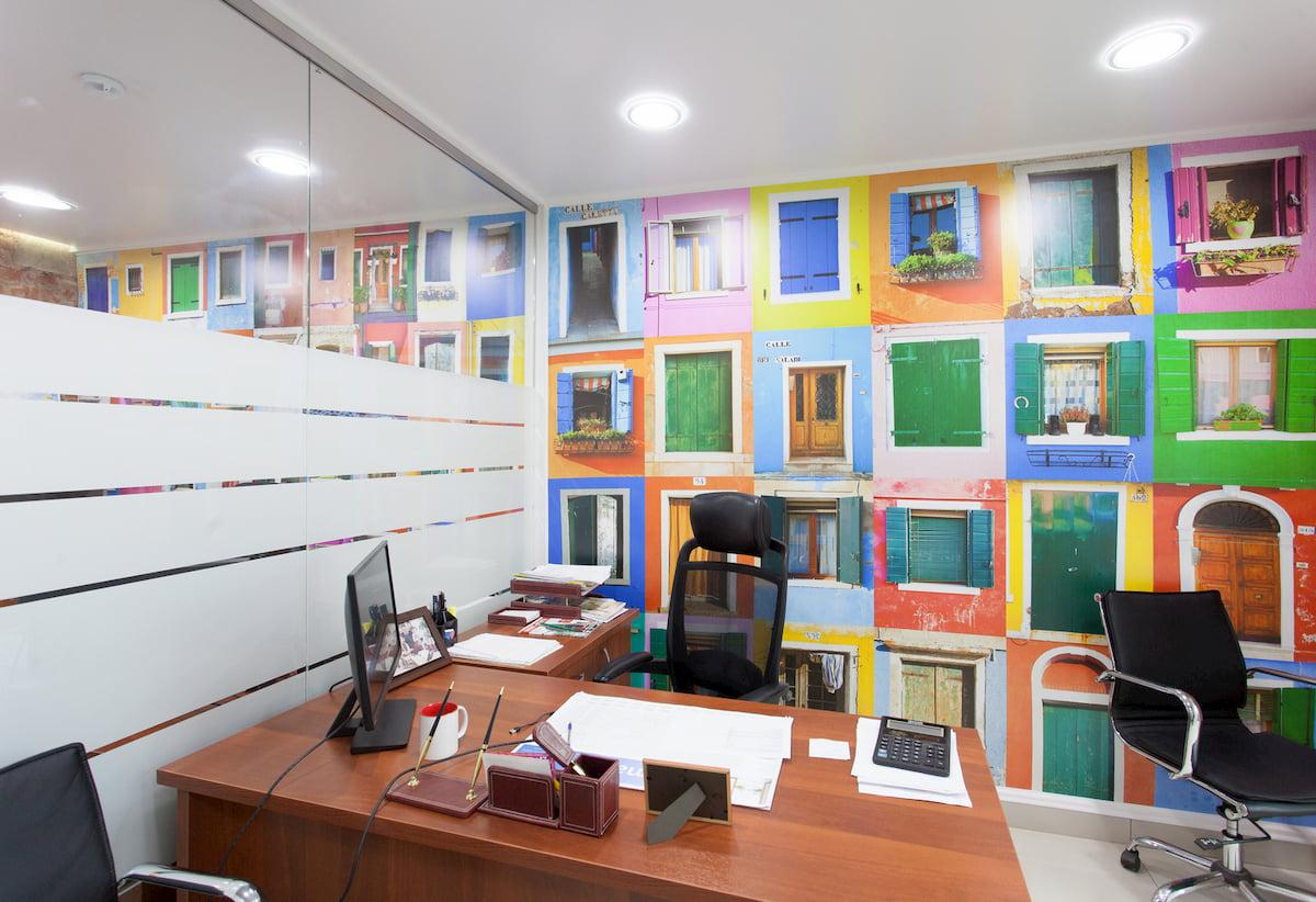 Потолок для офиса #9