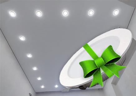 Акция - 10 светильников FERON в подарок