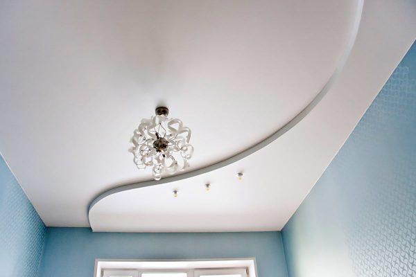 Двухуровневый потолок #7